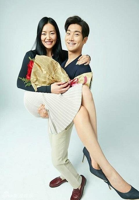 Чхве Ши Вон и его девушка Лю Вэнь