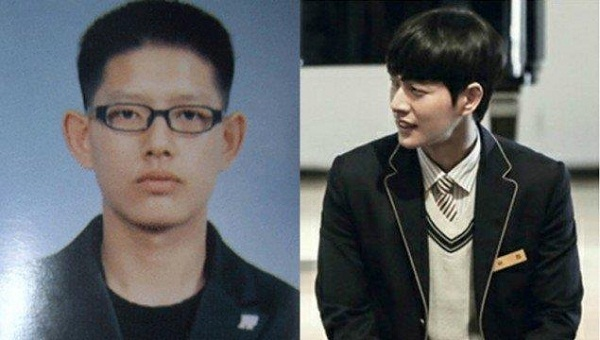 Пак Хэ Чжин в юности и сейчас фото