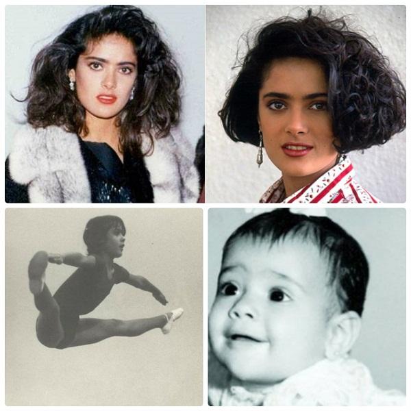 Сальма Хайек в детстве и молодости фото