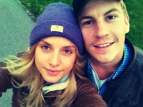 Никита Тезин с женой фото