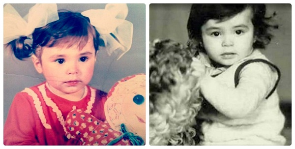 Сати Казанова в детстве фото