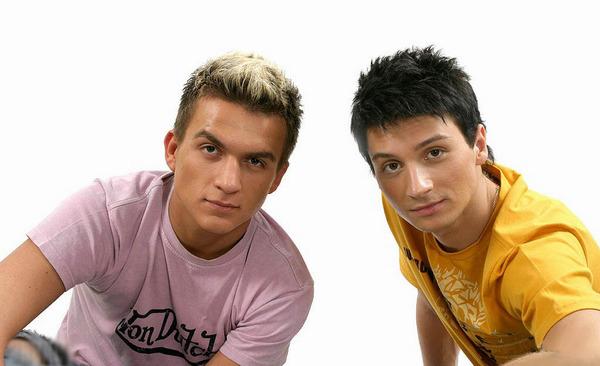 Сергей Лазарев и Влад Топалов в группе «Smash!!»