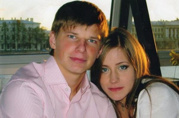 Юлия Барановская и Андрей Аршавин фото