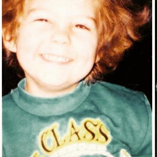 Милош Бикович в детстве фото