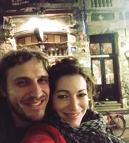 Алёна Хмельницкая и Александр Синюшин фото