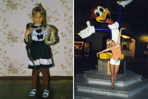 Дарья Сагалова в детстве и юности фото