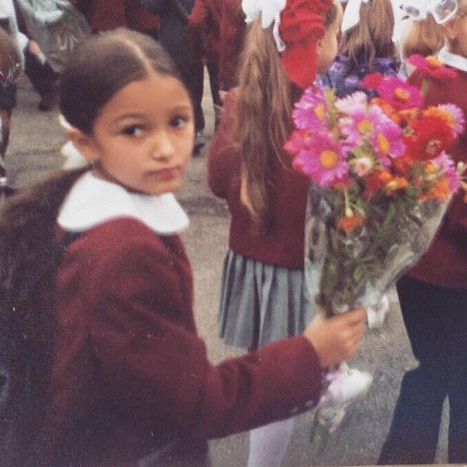 Мария Гураль в детстве