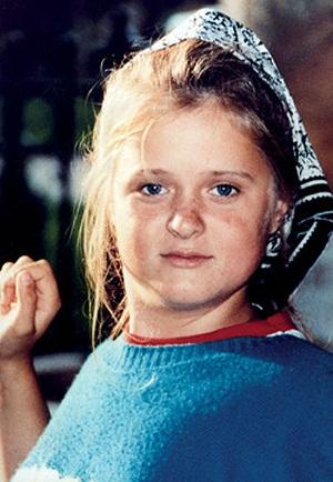Анна Михалкова в детские годы фото