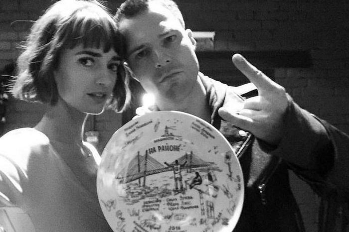 Данила Козловский и его новая девушка Ольга Зуева фото