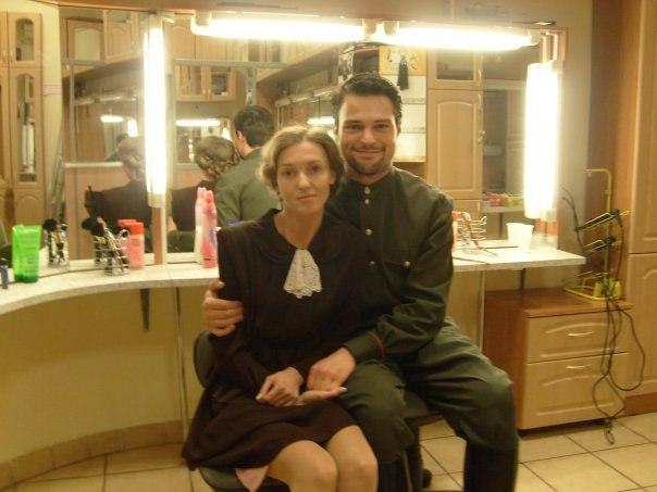 Данила Козловский с бывшей женой Уршулой Малке фото