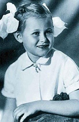 Дарья Донцова в детстве фото