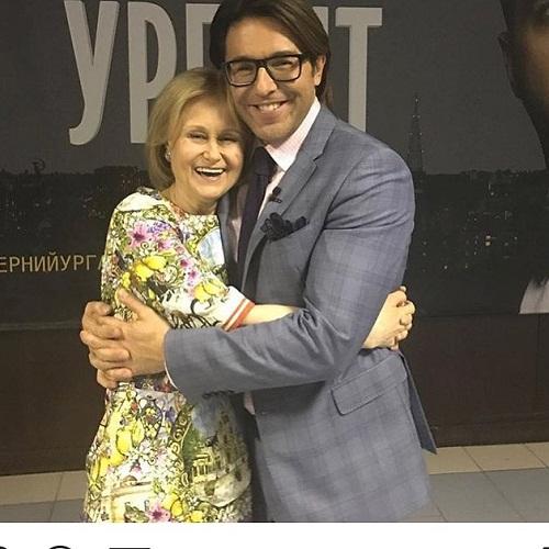 Дарья Донцова и Андрей Малахов