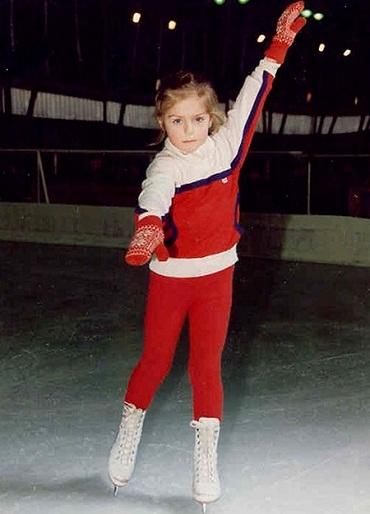 Саша Савельева в детстве
