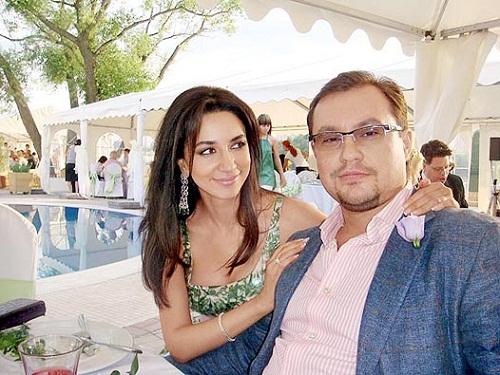 Зара с мужем Сергеем Ивановым фото