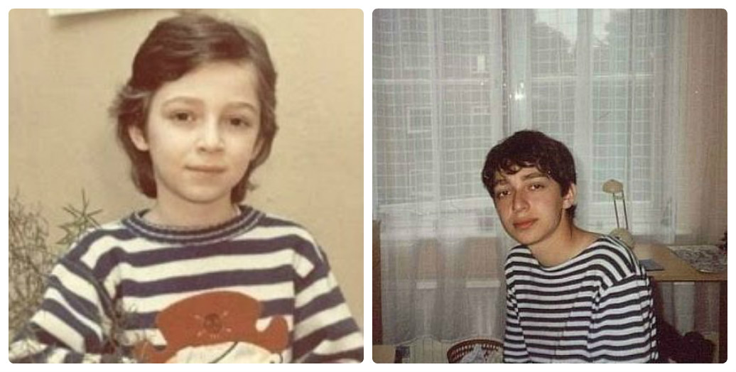 Мирон Федоров (Оксимирон) в детстве и юности фото