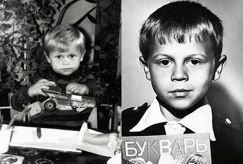 Павел Деревянко в детстве фото