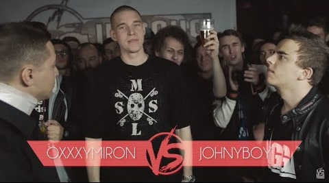 Oxxxymiron и Versus Battle Джонибоя 2015