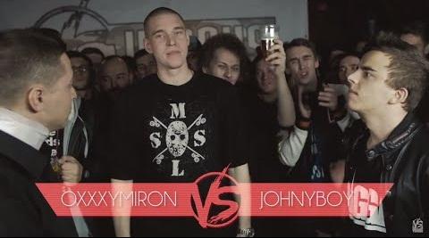 Oxxxymiron и Versus Battle Джонибоя 2015