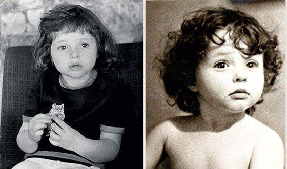Анна Банщикова в детстве фото