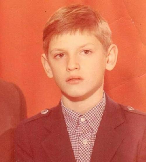 Влад Лисовец в школьные годы