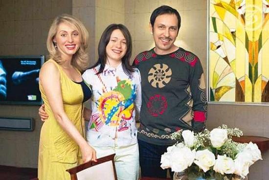 Николай Носков с семьей фото