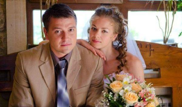 Олеся Фаттахова с мужем фото