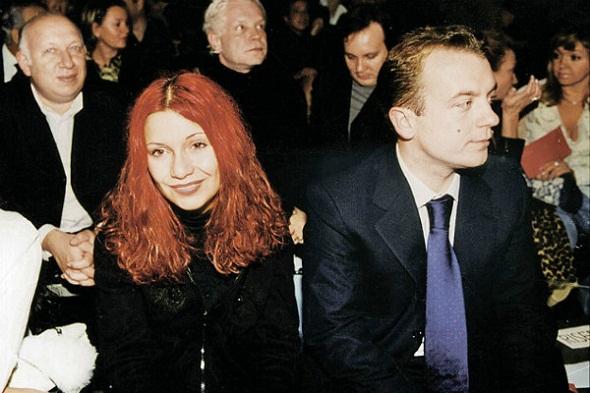 Ольга Орлова с бывшим мужем Александром Кармановым фото
