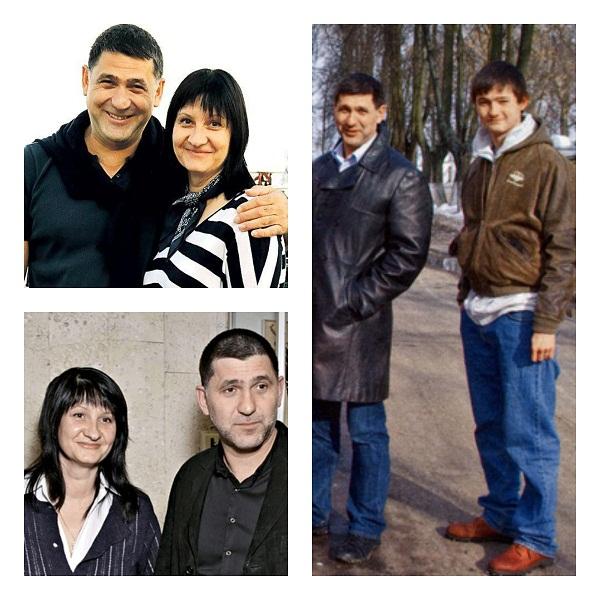 Сергей Пускепалис с женой и сыном фото