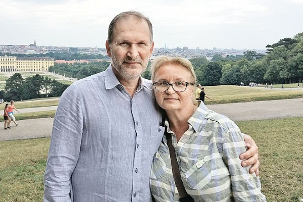Фёдор Добронравов с супругой фото