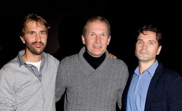 Федор Добронравов с сыновьями Виктором и Иваном фото