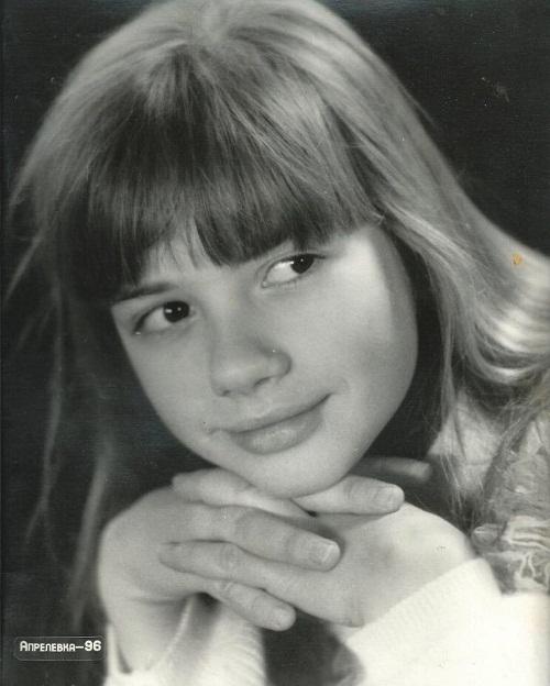 Анастасия Трегубова в детстве фото