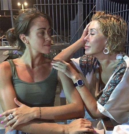 Любовь Успенская с дочерью Татьяной Плаксиной фото