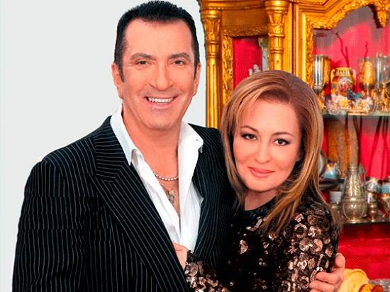 Александр Буйнов с женой Аленой Гутман фото